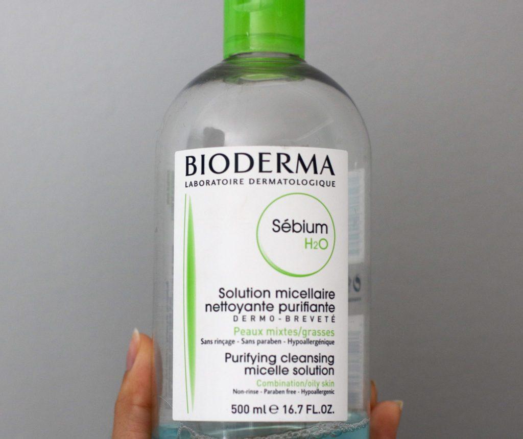 Bioderma piel mixta agua micelar